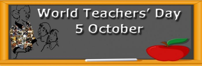 5oct World Teachers Day 2016 Images